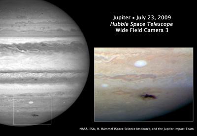 jupiter impact 19 july 2009